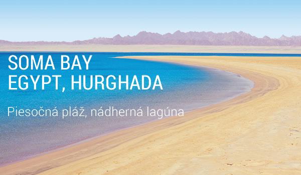 Dovolenka Egypt Soma Bay