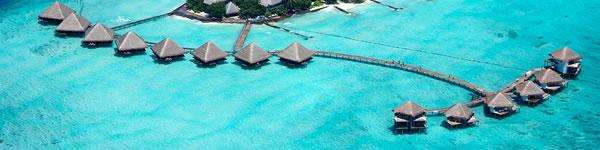 Letenka na Maledivy