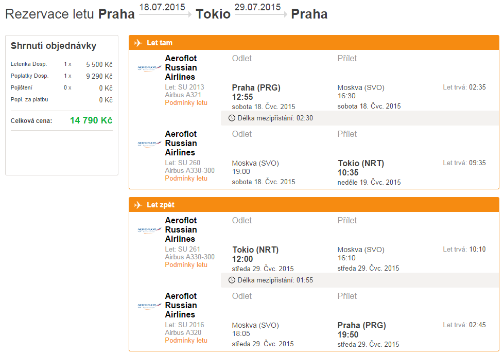 a4a41089d160d Letecká spoločnosť: Aeroflot Potrebné rezervovať do: nie je uvedené.  Zobraziť dátumy letov: Praha – Tokio >>>