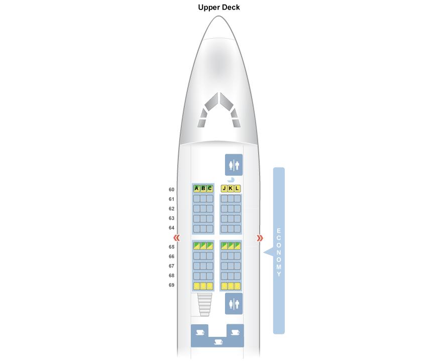 Boeing 747 Jumbo Jet – Ako cestovať na hornom poschodí